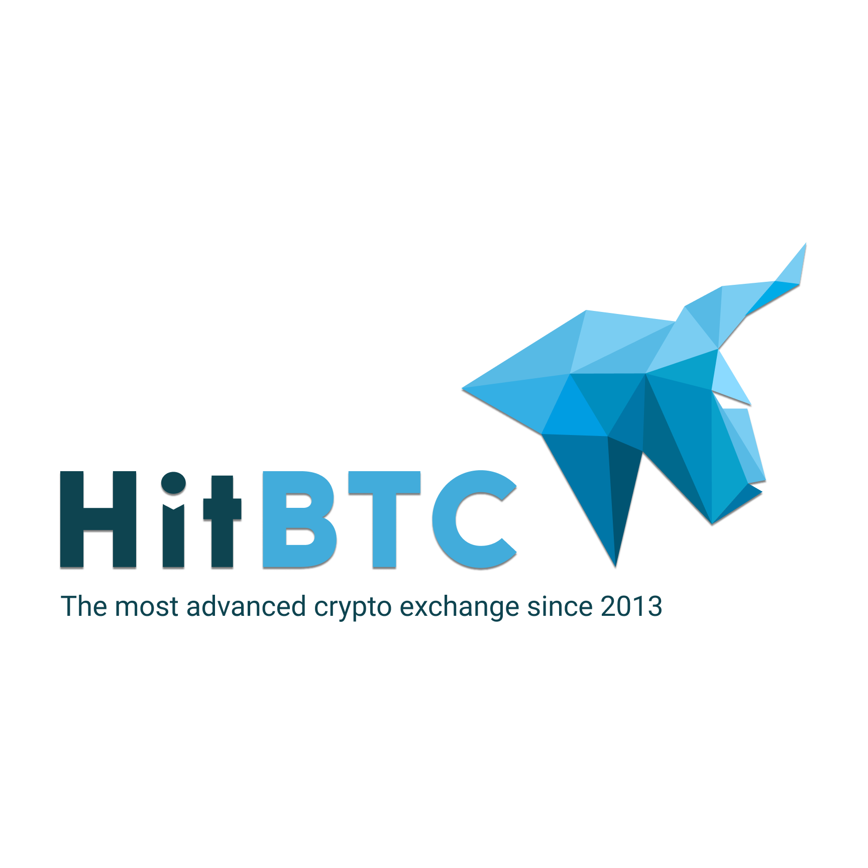 HitBTC logo on black