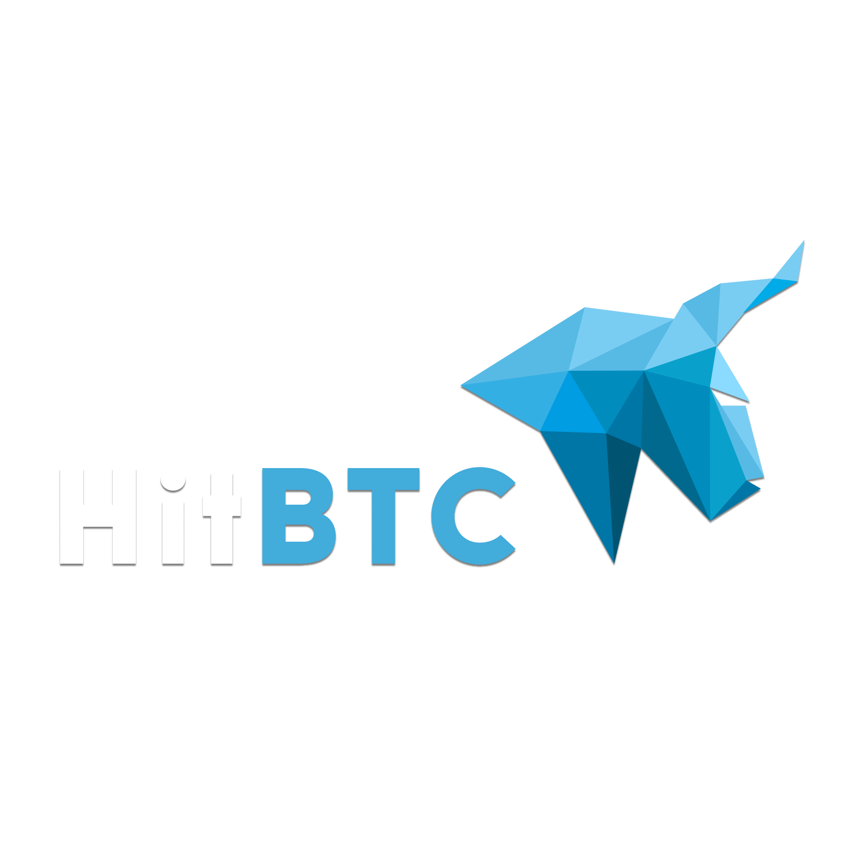 HitBTC logo on transparent